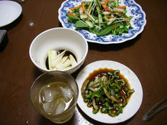 野菜のつまみ類
