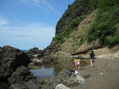 米山海水浴場2