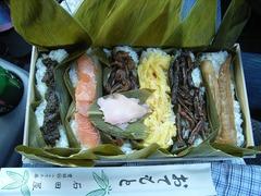 妙高の笹寿司