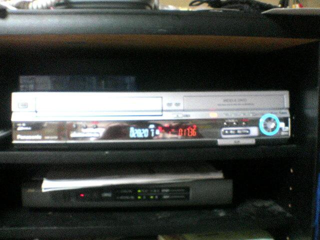 DVDレコーダ